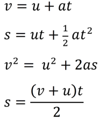 Thesis equation